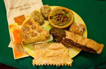 dessert dinner: italian pastries