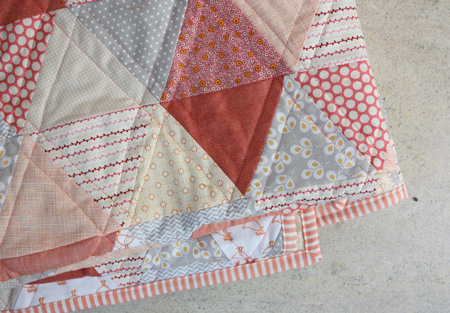 baby quilt by elise blaha cripe