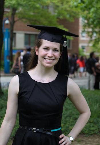 sam graduated!