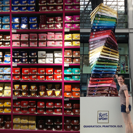 tower of ritter sport