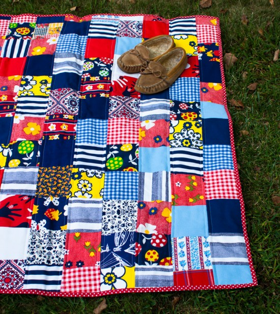 aunt jeanie's quilt: finished