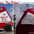 marietta, georgia's big chicken in plush form