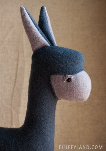 wool plush alpaca