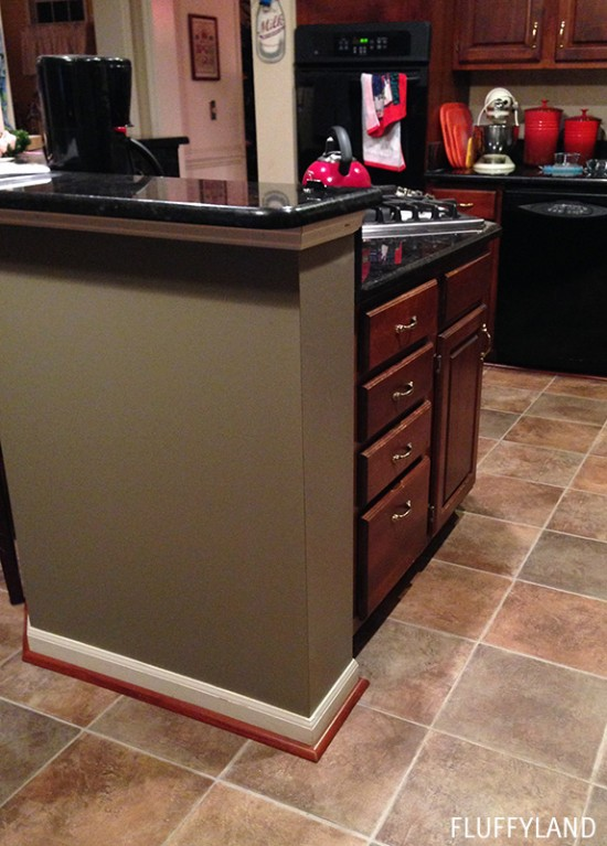 wiwo: painted kitchen island - an HGTV surprise