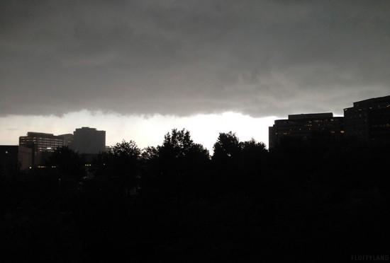 pre-thunderstorm gray