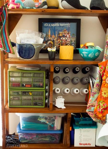 sewing room tour: fluffyland studio