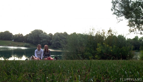 sam and marie by the lake in munich