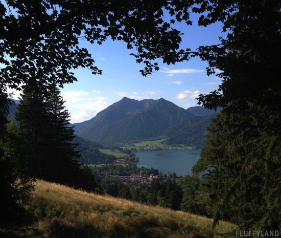 schliersee: a beautiful alpen lake