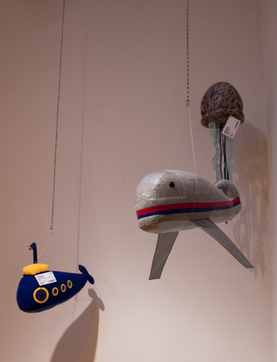 adventurous whales at spaces gallery, cleveland, ohio