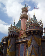 sleeping beauty's castle, disneyland
