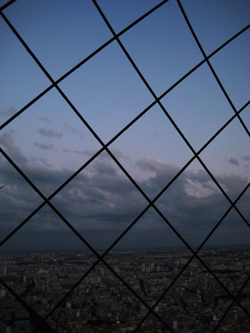 eiffel tower cage