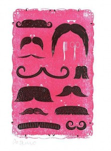 gocco mustaches by peskimo