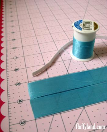 Fluffyland Ribbon Headband Tutorial Supplies