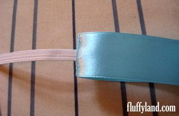 Fluffyland Ribbon Headband Tutorial step 6