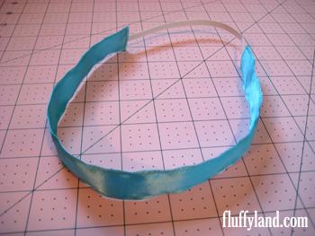 Fluffyland Ribbon Headband Tutorial