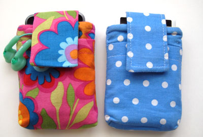 handmade ipod pouches