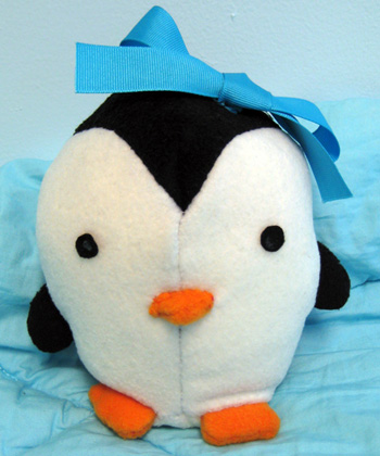 lily the penguin - would you believe a boy made this?