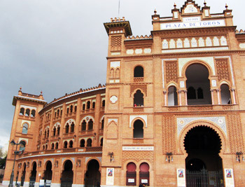 plaza de toros … bull ring … madrid.