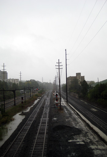rainy train