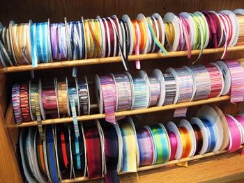 ribbon rack