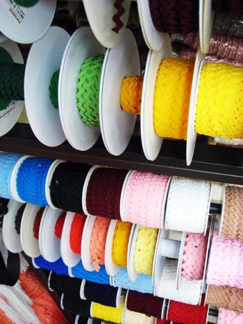 rick rack display (paris shop - montmartre)